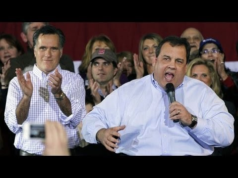 Revealed: Mitt Romney Thought Chris Christie Was Too Fat To Be His VP