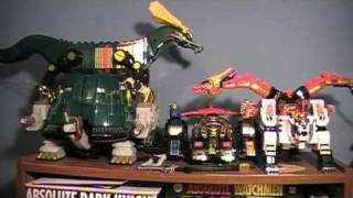 Power Rangers Season 2 Zords Toy Reviews Thunder