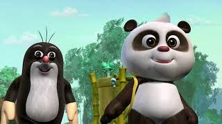 Krtko a Panda 16 - Záchrana pred dažďom