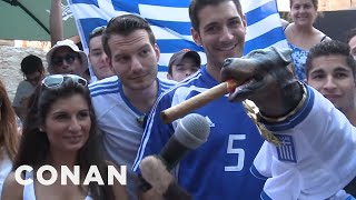 Triumph the Insult Comic Dog vs The World Cup: Colombia, Greece, and Uruguai