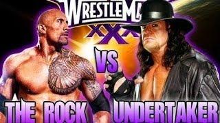The Rock Vs Undertaker Promo Wrestlemania 30 HD