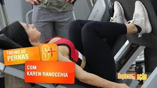 Karen Ranocchia - Leg Press