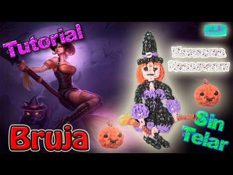 ♥ Tutorial: Bruja de gomitas (sin telar) ♥