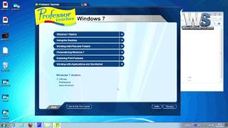 Professor Teaches Office 2007 & Windows 7