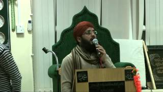 Sajid Qadri in HALIFAX HE READ SOME AWESOME NAATS MASHALLAH,SUBHANALLAH