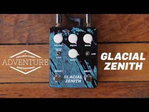 Adventure Audio Glacial Zenith Overdrive Boost Pedal