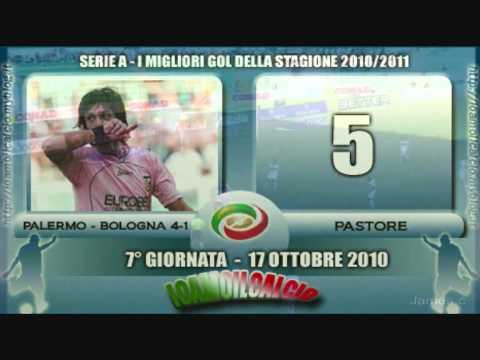I 10 GOL PIU' BELLI DELLA STAGIONE 2010/2011 DI SERIE A