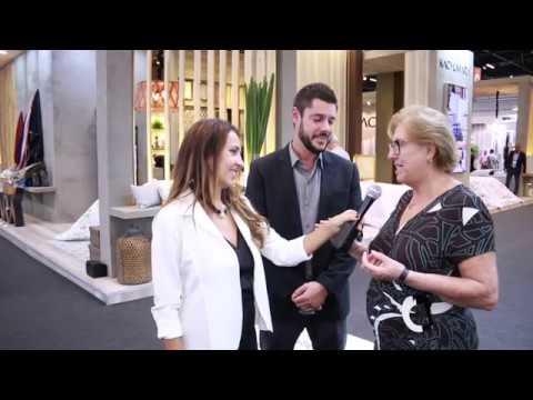 38ª HOME & GIFT / 7ª TÊXTIL & HOME - Junior e Cacilda Almeida da empresa Kacyumara