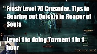 Reaper Of Souls: Fresh Lvl 70 Crusader Tips To Gearing