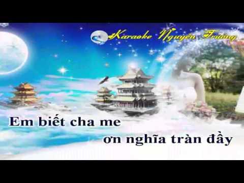 [Karaoke Nhạc Sống ]Gái Nhà Nghèo