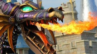 Fire-breathing Maleficent Dragon Battle With Prince
