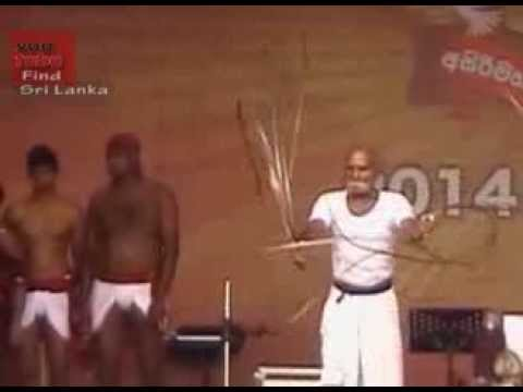 Angampora - traditional fighting art in Sri Lanka