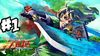 The Legend Of Zelda: Skyward Sword Walkthrough Part 1 HD