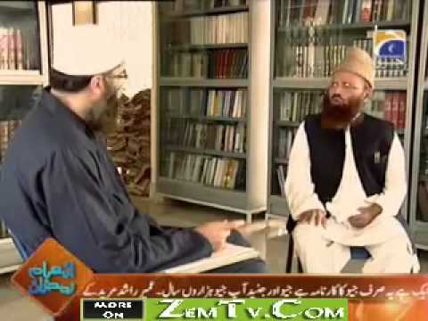 Allama Ghulam Rasool Saeedi in Hayaa Alal Falah with Junaid Jamshed 5th September 2010 Part 1
