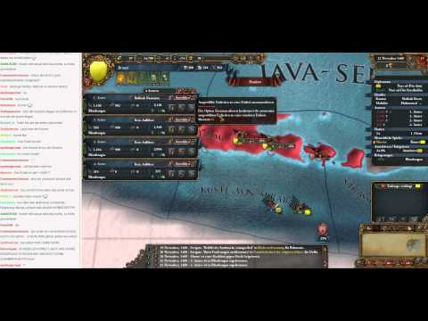 Livestream Europa Universalis IV Brunei to Malaysia 03 (Let's Play/Deutsch)