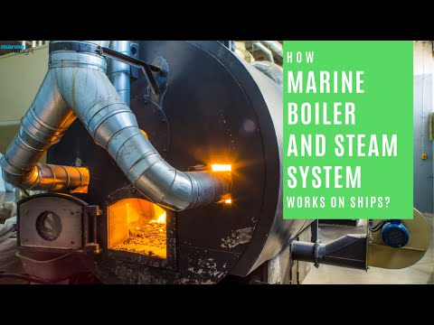 How Boiler and Steam System Works on Ships?