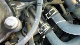 2000 Toyota Sienna LE Thermostat Location