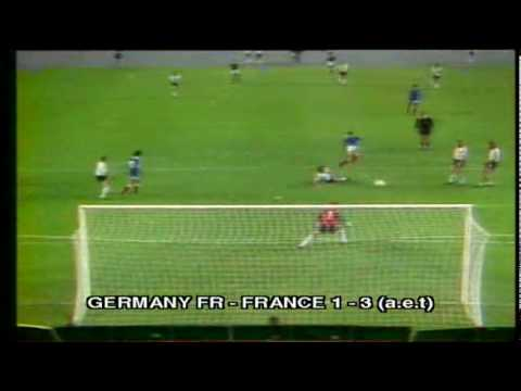 1982 WC  Germany FR - France