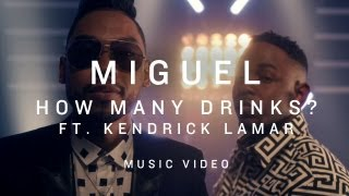 VIDEO: Miguel Ft Kendrick Lamar: How Many Drinks Remix