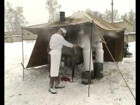 Тест драйв Полевая кухня КП-130