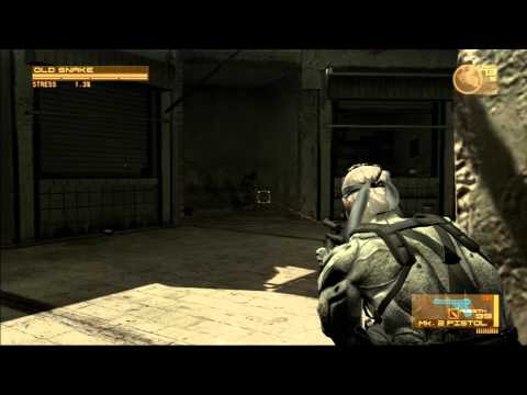 Lets Play Metal Gear Solid 4 Part 10 - Kartons sind so 90er
