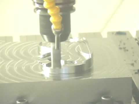 Mikron HPM 600 Milling Machine Demonstration
