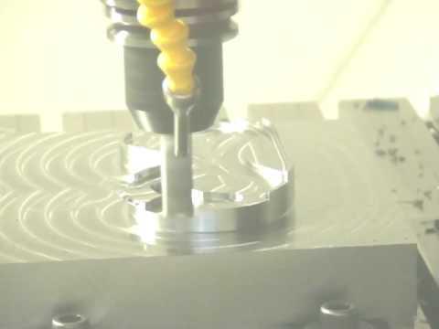 Mikron HPM 600 Milling Machine Demonstration