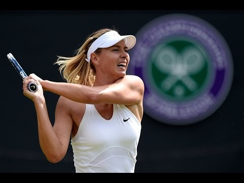 Annabel Croft's analysis of Maria Sharapova - Wimbledon 2014