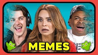 YouTubers React to Memes: Avengers, Duolingo, MF Tea