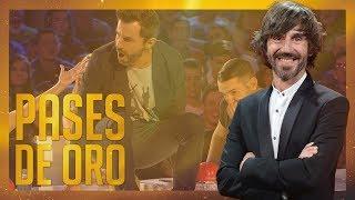 TODOS los pases de oro del presentador Santi Millán en 'Got Talent España' | Pases de oro