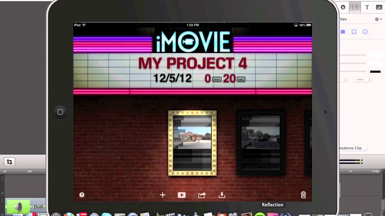 how to add a title in imovie