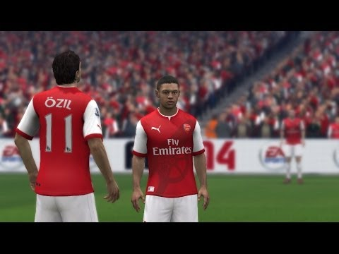 FIFA 14 | Arsenal's New Home Kit 14/15