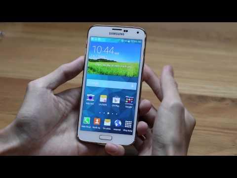 Trên tay Galaxy S5 LTE A màn hình 2K