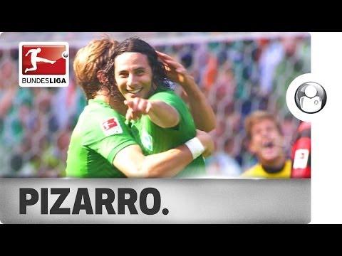 Claudio Pizarro - 18 Goals versus 18 Bundesliga Clubs