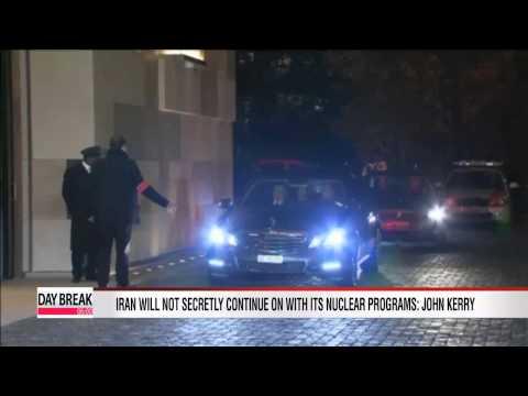 U.S. Secretary of State John Kerry says