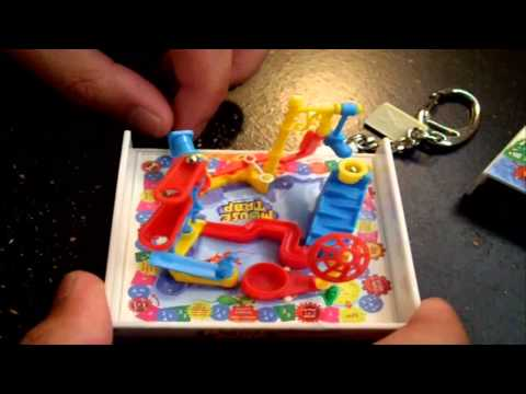 Mini Mouse Trap Board Game Keychain