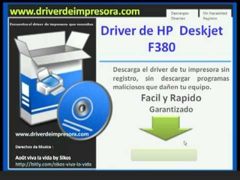 Drivers Hp Deskjet F380