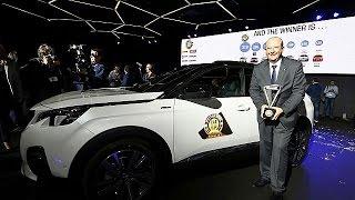 بيجو 3008 تفوز بلقب سيارة أوروبا لعام 2017 |