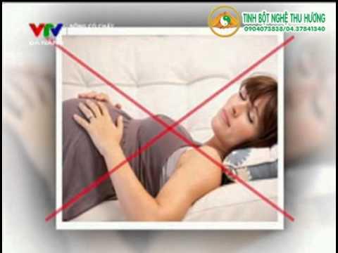 Tư thế ngủ cho bà bầu, tư thế nằm khi mang thai?