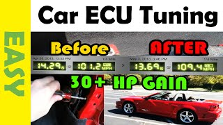 Add Up To 30 Horsepower To Mustang With ECU Tunning
