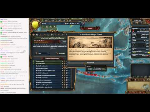 Livestream Europa Universalis IV Brunei to Malaysia 08 (Let's Play/Deutsch)