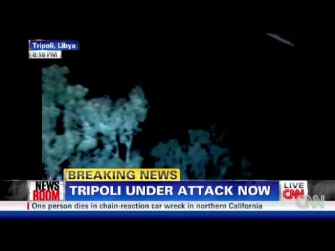 Libya: Tripoli under attack (20/03/2011)