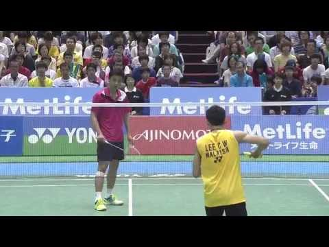 YONEX OPEN JAPAN 2014 -  F's MS Lee Chong Wei [1] (MAS) vs Hu Yun [8] (HKG)