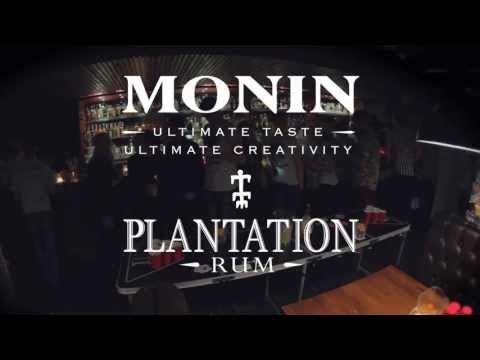 The Liverpool heat of the UPPL punch pong league in association with Monin syrups and Plantation rum