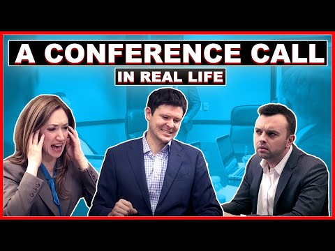 Thumbnail of video A Conference Call in Real Life