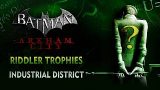 Batman: Arkham City Riddler Trophies Industrial