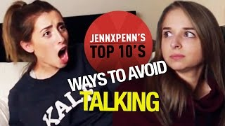 Jennxpenn's Top 10 Ways to Avoid People with Lauren Elizabeth