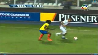 Peru Vs Ecuador 1 A 0 Clasificatorias 2013 Gol De Pizarro
