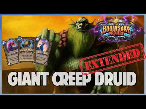 Giant Creep Druid | Extended Gameplay | Hearthstone | Boomsday Project