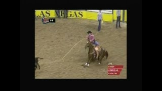 Tie Down Roping - 2013 NFR Round 1